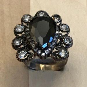 Handmade Copper Antiqued Women Ring